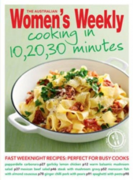 COOKING IN 10,20,30 MINUTES