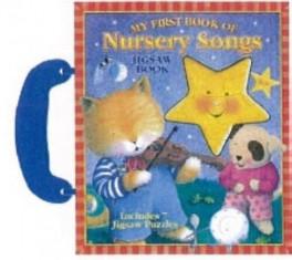NURSERY SONGS SMALL JIGSAW BOOK WITH HANDLE
