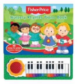 FISHER PRICE: PIANO BOOK
