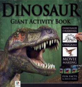 DINOSAUR GIANT ACTIVITY BOOK BINDER