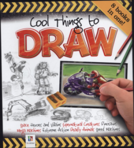 COOL THINGS TO DRAW (REDUCED BINDER)