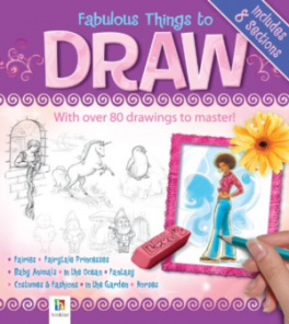REDUCED BINDER: FABOULOUS THINGS TO DRAW