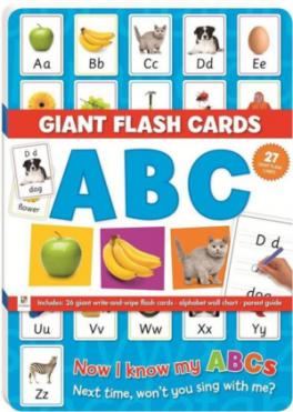 GIANT FLASHCARD: ABC