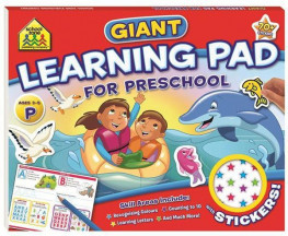 SCHOOL ZONE GIANT FUN PAD: PRESCHOOL