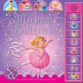 MUSICAL BALLERINA TABBED SOUND BOARD