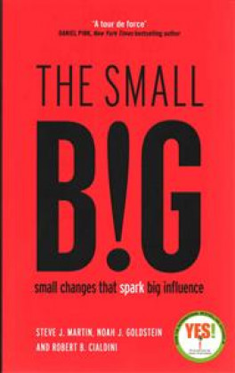 SMALL BIG, THE: SMALL CHANGES THAT SPARK BIG INFLUENCE