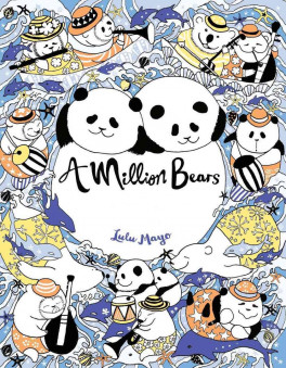 MILLION BEARS A COLORING BOOK