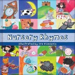 Square Cased Nursery Rhymes Book Cd