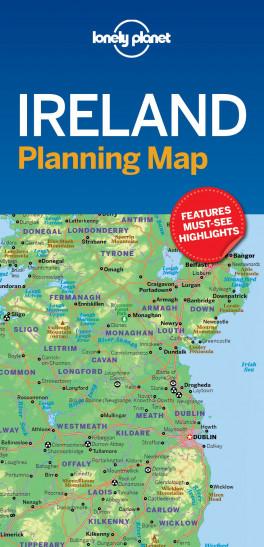 Images Of Ireland Map.Lp Planning Map Ireland 1st Ed