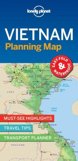 LONELY PLANET PLANNING MAP: VIETNAM (1ST ED.):LONELY PLANET ...