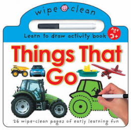 WIPE CLEAN: THINGS THAT GO