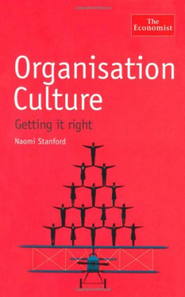 ORGANISATION CULTURE: GETTING IT RIGHT