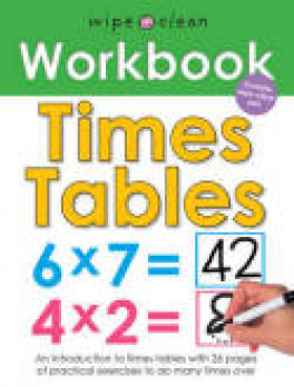 WIPE CLEAN WORKBOOK: TIMES TABLES