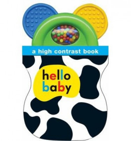 HELLO BABY SHAKER TEETHER