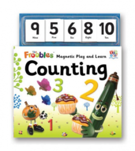 FROOBLES MAGNETIC PLAY AND LEARN: COUNTING