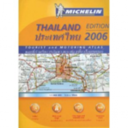 MICHELIN: THAILAND MOTORING & TOURIST MAP