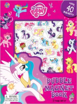 MY LITTLE PONY #2 BUBBLE MAGNET BOOK