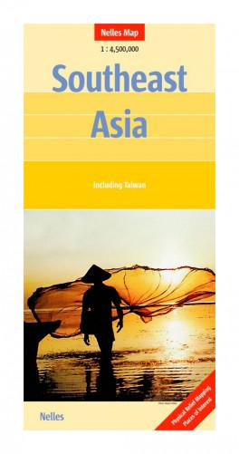 vietnam laos cambodia 1 1 500 000 travel map nelles