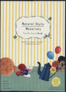 NATURAL STYLE MATERIALS (DVB): READY-TO-USE BACKGROUND PATTERNS