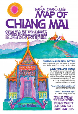 NANCY CHANDLER'S MAP OF CHIANG MAI (21TH ED.) | Asiabooks.com on