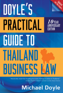 DOYLE'S PRACTICAL GUIDE TO THAILAND BUSINESS LAW (10 YEAR ANNIVERSARY EDITION)