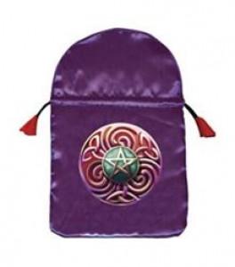 TAROT BAG: PRINTED, SATIN MAGIC STAR (BT40)