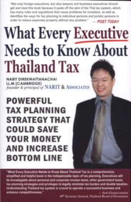 WHAT EVERY EXECUTIVE NEEDS TO KNOW ABOUT THAILAND TAX