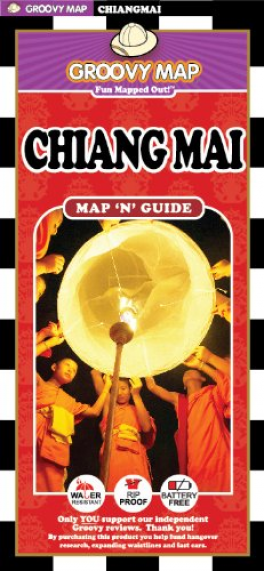 GROOVY MAP: CHIANG MAI MAP 'N' GUIDE (8TH ED.)