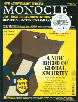 Monocle issue Mar 10th Anniversary
