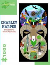 ARTPIECE PUZZLE: CHARLEY HARPER: THE CALIFORNIA DESERT MOUNTAINS (1,000P)