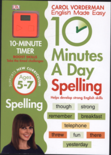 10 MINUTES A DAY SPELLING (AGES 5-7)