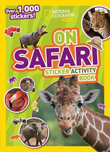 NG KIDS: ON SAFARI STICKER ACTIVITY BOOK