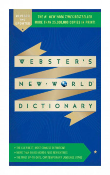WEBSTER'S NEW WORLD DICTIONARY (4TH ED.)