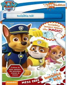 INKREDIBILE INVISIBLE INK: PAW PATROL