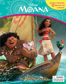 MY BUSY BOOK: DISNEY MOANA
