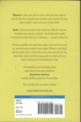 Eleanor Park Rainbow Rowell Asiabooks Com