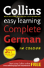 COLLINS EASY LEARNING DICTIONARIES: COMPLETE GERMAN