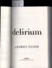 DELIRIUM (BOOK 1)