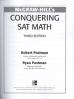 MH'S CONQUERING SAT MATH 3E(1ST ED)