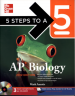 5 STEPS TO A 5 AP BIOLOGY W/CD-ROM 2012(1ST ED)