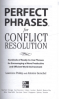 PERFECT PHRASES FOR CONFLICT RESOLUTION: