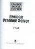 PMP: GERMAN PROBLEM SOLVER (1ST ED.)