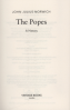 POPES A HISTORY, THE