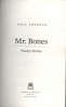 MR BONES: TWENTY STORIES