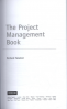PROJECT MANAGEMENT BOOK, THE, I/E