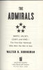 ADMIRALS, THE: NIMITZ, HALSEY, LEAHY, AND KING THE FIVE-STAR ADMIRALS WHO WON THE WAR AT SEA