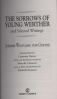 SORROWS OF YOUNG WERTHER AND SELECTED WRITINGS, THE