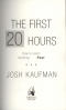 FIRST 20 HOURS, THE: HOW TO LEARN ANYTHING ... FAST