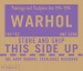 ANDY WARHOL CATALOGUE RAISONNE: PAINTINGS AND SCULPTURE LATE 1974-1976