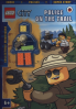 LEGO CITY: POLICE ON THE TRAIL ACTIVITY BOOK WITH LEGO MINIFIGURE